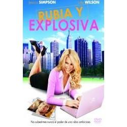 RUBIA Y EXPLOSIVA