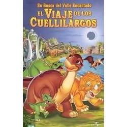 EN BUSCA DEL VALLE ENCANTADO X EL VIAJE DE LOS CUELLILARGOS