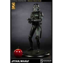 FIGURA ESTATUA STAR WARS STORMTROOPER BLACK 50 CM