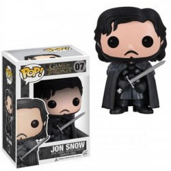 FIGURA POP MOVIE JUEGO DE TRONOS: JON SNOW 10CM