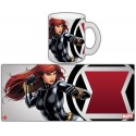TAZA MARVEL BLACK WIDOW