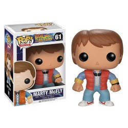 FIGURA POP MOVIES REGRESO AL FUTURO MARTY MACFLY
