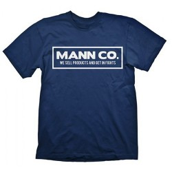 CAMISETA TEAM FORTRESS 2 MANN CO L