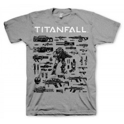 CAMISETA TITANFALL CHOOSE YOUR WEAPON XXL