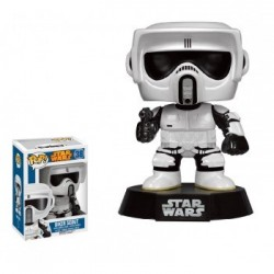 FIGURA POP STAR WARS BIKER SCOUT