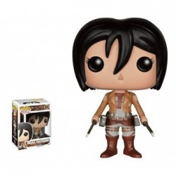 FIGURA POP ATTACK ON TITANS  MIKASA