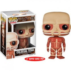 FUNKO POP ATTACK ON TITANS : COLOSSAL TITAN