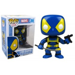 FUNKO POP MARVEL : DEADPOOL XMEN SIN MASCARA