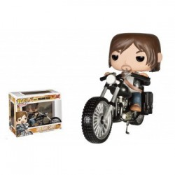 FIGURA POP WALKING DEAD DARYL EN CHOPPER 12CM