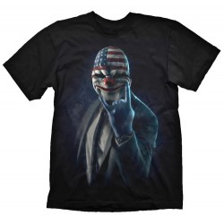 CAMISETA PAYDAY 2 ROCK ON S