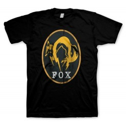 CAMISETA METAL GEAR SOLID 5 NEGRA FOX XXL