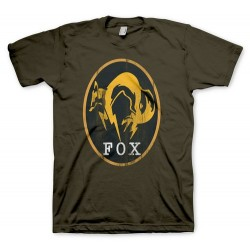 CAMISETA METAL GEAR SOLID 5 KAKI FOX XXL