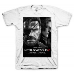 CAMISETA METAL GEAR SOLID 5 GROUND ZEROES XXL