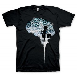 CAMISETA EVIL WITHIN BRAIN NEGATIVE S