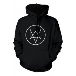 SUDADERA CON CAPUCHA WATCH DOGS LOGO FOX M