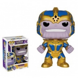 FIGURAS POP GUARDIANES DE LA GALAXIA - THANOS 14CM