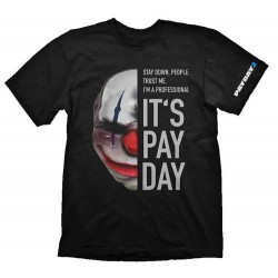 CAMISETA PAYDAY 2 - MASCARA CHAINS XXL