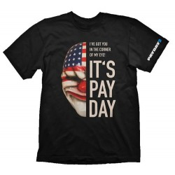 CAMISETA PAYDAY 2 - MASCARA DALLAS XL