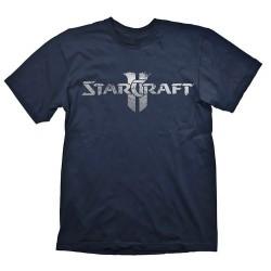 CAMISETA STARCRAFT 2 SILVER LOGO XL
