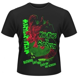 CAMISETA GODZILLA VS KING KONG L