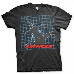 CAMISETA AIRWOLF PATTERN XXL