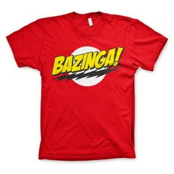 CAMISETA BIG BANG THEORY BAZINGA L