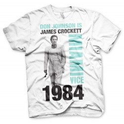 CAMISETA MIAMI VICE CROCKETT XXL