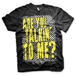 CAMISETA TAXI DRIVER ARE YOU TALKING TO ME? M