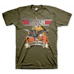 CAMISETA TOP GUN FLYING EAGLE L