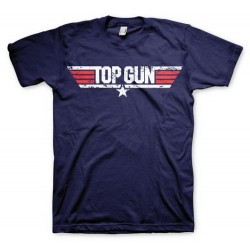 CAMISETA TOP GUN LOGO XL