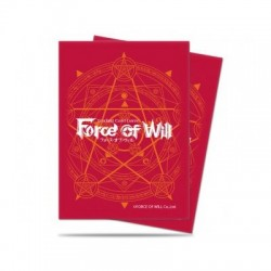 FUNDA ULTRA PRO FORCE OF WILL RED CARD (65)