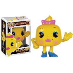 FIGURA POP PAC MAN: MRS PAC MAN