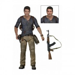 FIGURA UNCHARTED A NATHAN DRAKE 18 CM