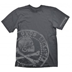 CAMISETA UNCHARTED PIRATE COIN OVERSIZED M