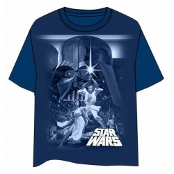 CAMISETA STAR WARS CLASICA A NEW HOPE L