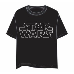 CAMISETA STAR WARS LOGO S