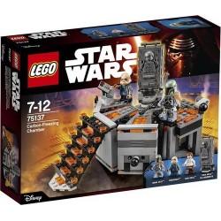 LEGOS STAR WARS CAMARA DE CONGELACION EN CARBONITA