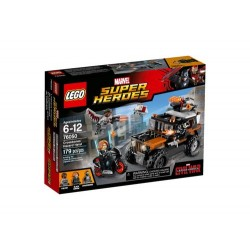 LEGOS HEROES MARVEL PELIGROSO GOLPE DE CALAVERA