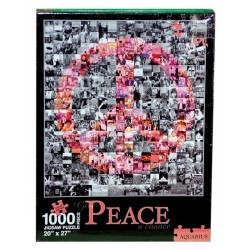 PUZLE GIVE PEACE A CHANCE 50 X 70 1000 PIEZAS