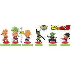 CAJA DE FIGURAS BANPRESTO DRAGON BALL BOS VOL 2 7 CM (50)