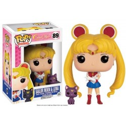 FIGURA POP SAILOR MOON MOON AND LUNA