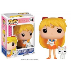 FIGURA POP SAILOR MOON VENUS Y ARTEMIS