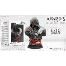 BUSTO ASSASSINS CREED EZIO MENTOR 19 CM