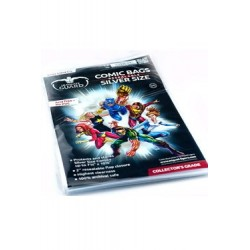 BOLSAS CON CIERRE COMIC SILVER ULTIMATE GUARD 100 unid.