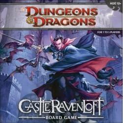 D&D TABLERO CASTLE OF RAVENLOFT juego en inglés