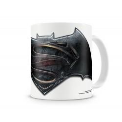 TAZA BATMAN VS SUPERMAN LOGO