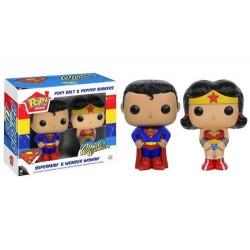 SAL Y PIMIENTA POP SUPERMAN Y WONDER WOMAN