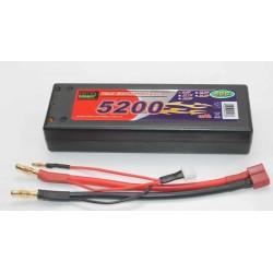 BATERÍA LIPO 7.4V 5200MHA 50C T-DEAN 139X45X25MM