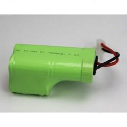 Batería Recargable 7.2vol 1800MAh NIMH conector Tamiya.
