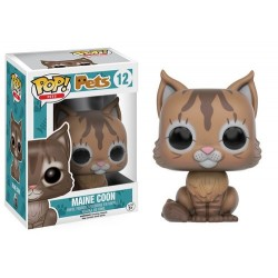 FIGURA POP PETS CATS MAINE COON